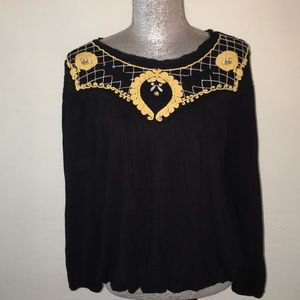 Free People black blouse